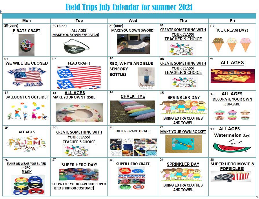 July Activity